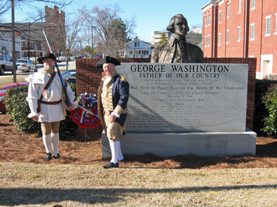... Chapter Color Guard - Ed Rigel, Sr. (L) and Roscoe McMillan III (R